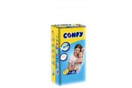 Бебешки пелени Confy baby размер 2 Mini (3-6 кг), 10 бр.