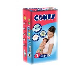 Бебешки пелени Confy baby размер 1 Newborn (2-5 кг), 11 бр.