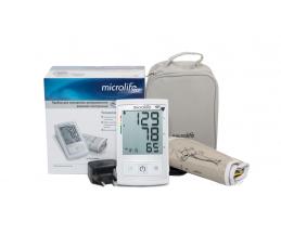 Автоматичен апарат Microlife модел BP A3L Comfort за измерване на кръвно налягане по време на напомпване