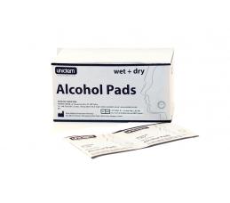 Спиртни кърпички за дезинфекция 50 мокри / 50 сухи