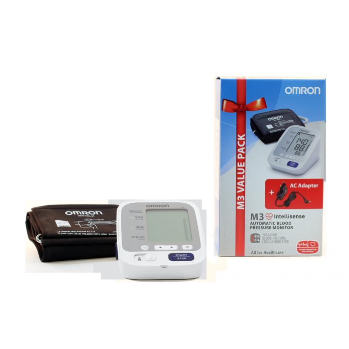 Автоматичен апарат за измерване на кръвно налягане Omron..